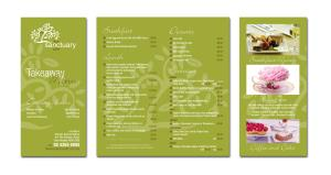 Sanctuary Cafe New Menus
