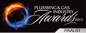 2013 Plumbing & Gas Industry Awards Finalist