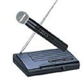 Wireless and lapel microphones