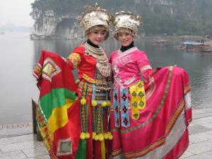 Minority Ladies in Guilin China