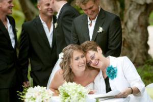 I form great relationships with my brides