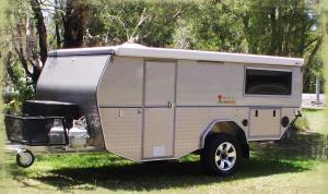 14 Foot XL Camper Trailer
