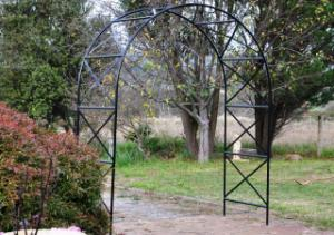 Large rose arch