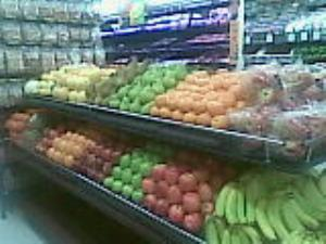 Our produce in-store ready to be purchased