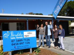 Straddie Sales Rentals Office & Staff