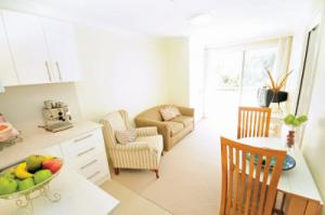 Serviced apartments at Queens Park Assisted Living