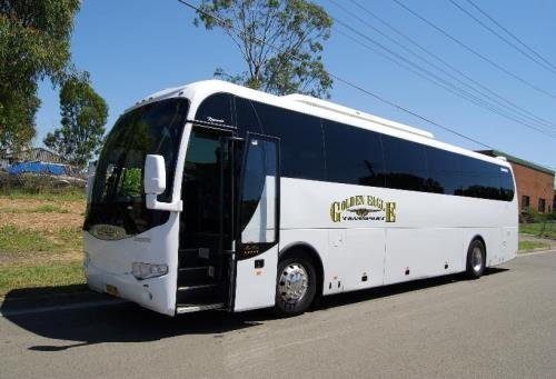Golden Eagle Transport bus and coach Hire Services