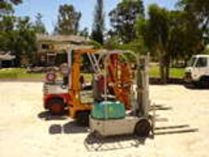 tight access forklifts