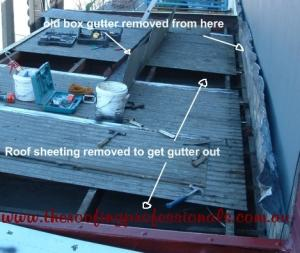 Box gutter replacements