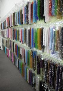 Glass and Gemstone Wall