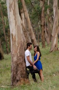 engagement shoot in Kangaloon