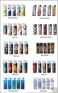 gas refillable lighters