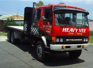 Heavy Vee driver training vehicle