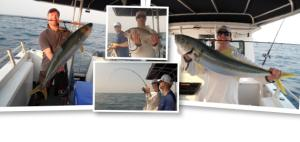 Offshore fishing charters from Scarborough QLD