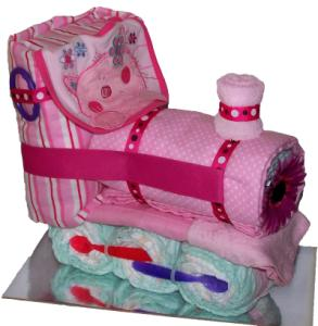 Pink Nappy Train