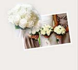 Make an appointment to plan your wedding flowers