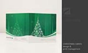 Christmas card design for iFinancial