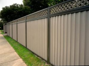 Perth WA residential fence installation
