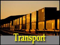 Road, Rail and Sea Container Transport