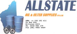 ALLSTATE OIL & FILTER SUPPLIES