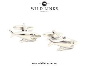 Sharks - Cufflinks | Weddings | Gifts | Men |Women
