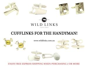 Handyman - Cufflinks | Weddings | Gifts | Men