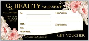 Our Beautiful Gift Voucher