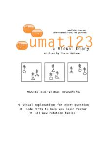 umat123 'a Visual Diary' text book Front cover