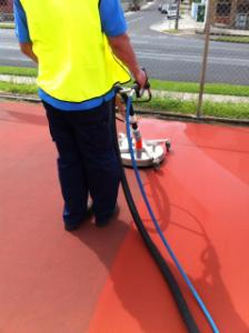 Tennis Court Pressure Cleaning, Geelong, Melbourne