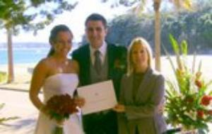 Wedding at Shelly Beach