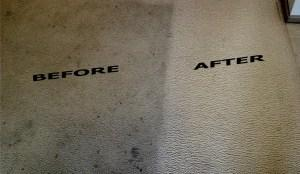 Carpet Before & After