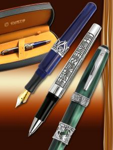 Handcrafted Sterling Silver Pens