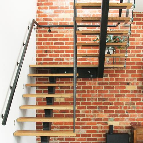 Recycled Messmate timber stair treads
