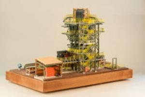 3D Printed Mining Plant