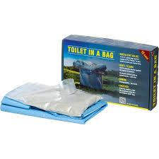 Cleanwaste GO anywhere toilet in a bag