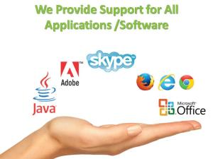 Application Software Technical Support Services