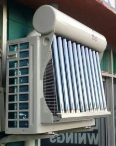 Solar air conditioner heat tube version
