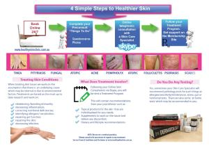 Healthy Skin Clinic Brochure Part 2