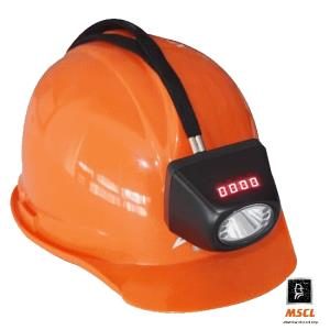 Miners lamp KL4.5LM with Hard hat