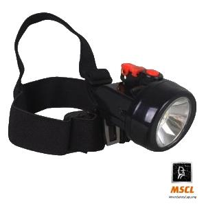 Mining cap lamp KL2.5LM cordless with head strap