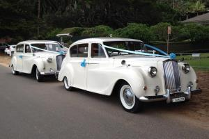 Multiple wedding car hire available