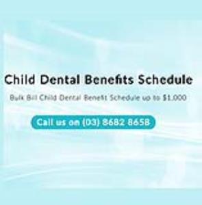 CHILD DENTAL BENEFIT SCHEDULE
