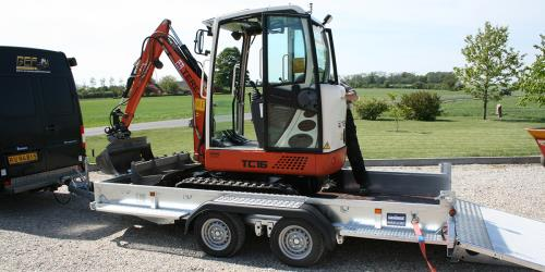 Machinery trailers -big or small