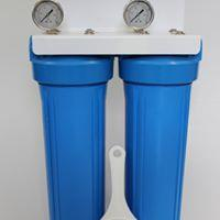 """Whole House Twin Filtration System 20"""" x 4.5"""""""