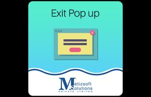 Magento Exit Screen Pop Up