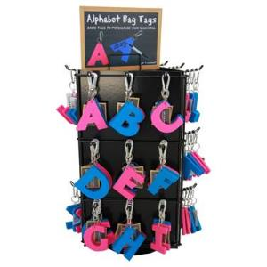 COUNTER DISPLAY STAND FOR  KEY RINGS