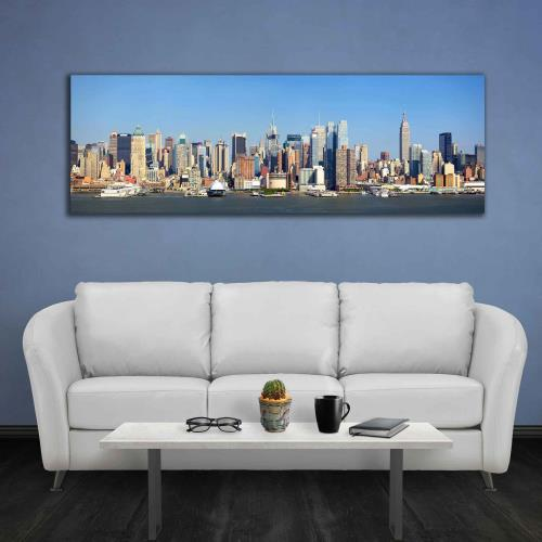 Panorama canvas prints for larger walls - photoWOW