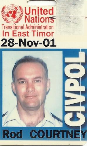 United Nations ID - East Timor