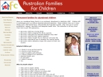 View More Information on Australian Families for Children