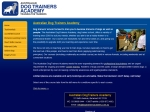 View More Information on Australian Dogtrainers Academy